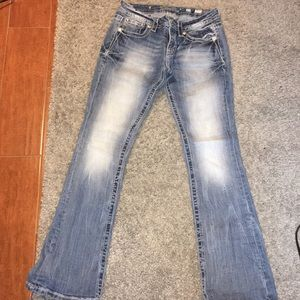 Size 27 MissMe mid rise bootcut jeans
